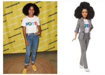 "YARA SHAHIDI AND MORE GET THEIR OWN ""SHERO"" BARBIE DOLL"