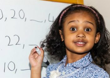 GENIUS FOUR-YEAR-OLD ALANNAH GEORGE NOT ONLY TAUGHT HERSELF TO READ, SHE'S MENSA'S NEWEST MEMBER
