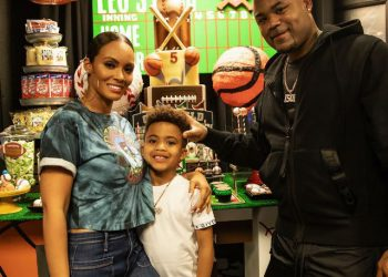 EVELYN LOZADA AND CARL CRAWFORD THROW A SPORTS-THEMED BIRTHDAY PARTY FOR THEIR SON