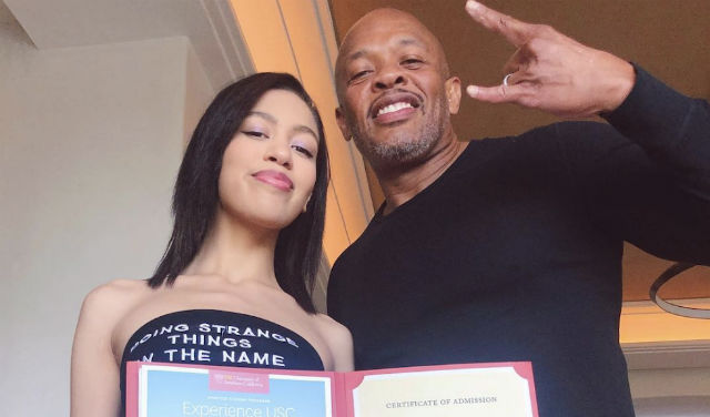 Dr Dre removes university boast post about daughter