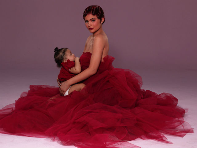 KYLIE JENNER AND BABY STORMI WEBSTER ARE RED HAUTE IN NEW