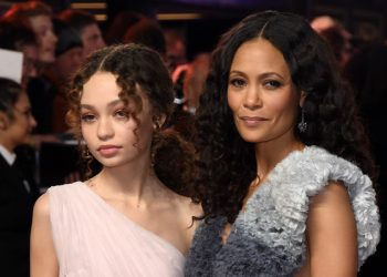 "THANDIE NEWTON AND HER ""MINI-ME,"" NICO PARKER, HIT THE RED CARPET FOR ""DUMBO"" PREMIERE"