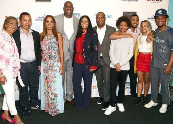 HOLLY ROBINSON PEETE AND HUSBAND RODNEY PEETE OPEN RJ'S PLACE TO SUPPORT FAMILIES