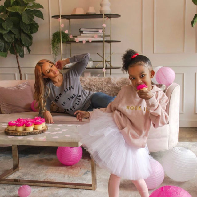 VANESSA SIMMONS AND HER DAUGHTER LAUNCH GLITTER AND LACE