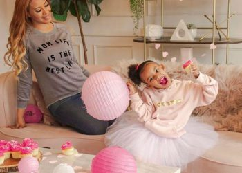 VANESSA SIMMONS AND HER DAUGHTER LAUNCH 'GLITTER AND LACE' CLOTHING LINE