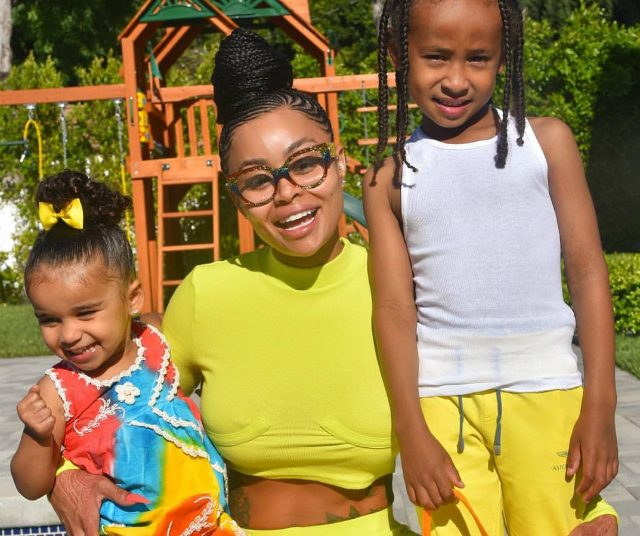 Blac Chyna Says Being A Single Parent Is Her