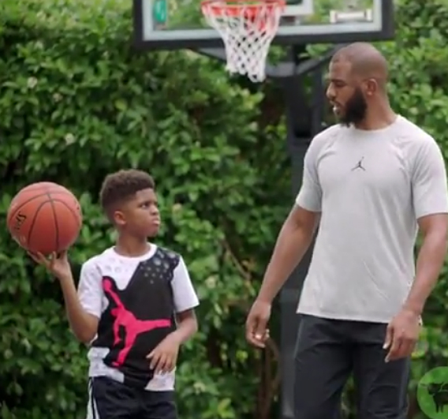 CHRIS PAUL AND SON STAR IN BEYOND MEAT PROMO