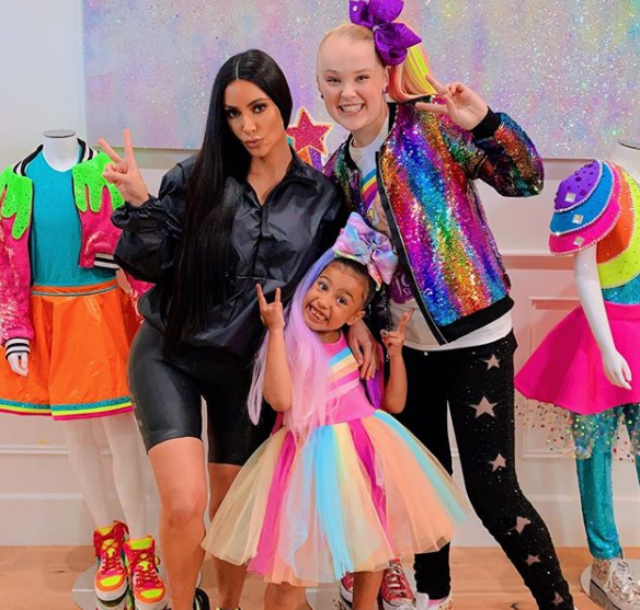 North West And Jojo Siwa S Youtube Video Is Live