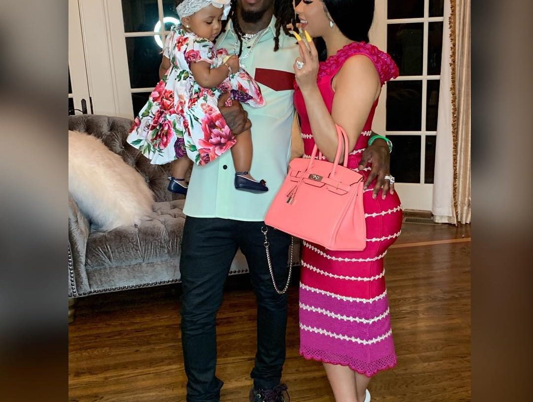 Cardi B Just Got A Giant New Offset Tattoo On Her Leg: CARDI B TALKS POST-BABY BODY AND MOM GUILT: 'I JUST GOT MY