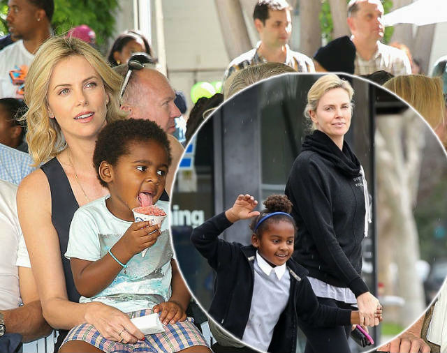 Charlize Theron transgender daughter
