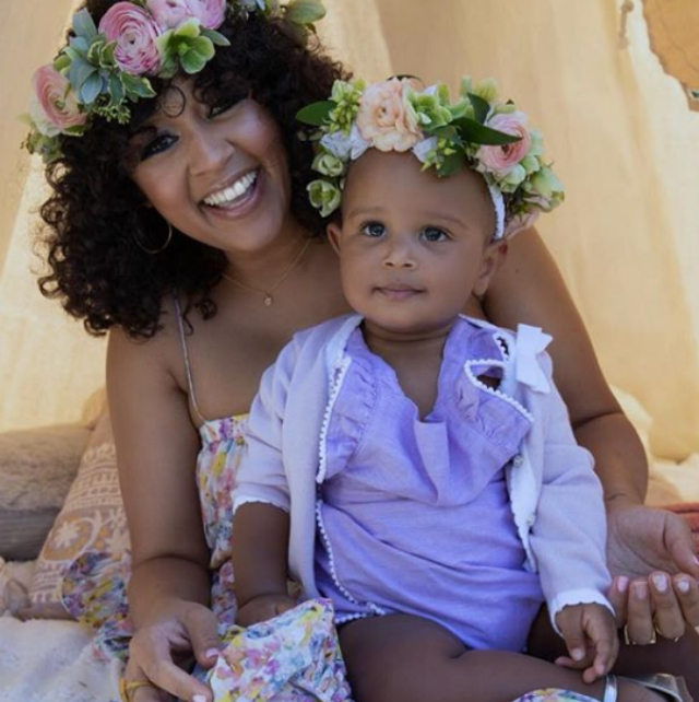 Tia Mowry And Cory Hardrict Celebrate Daughter S First