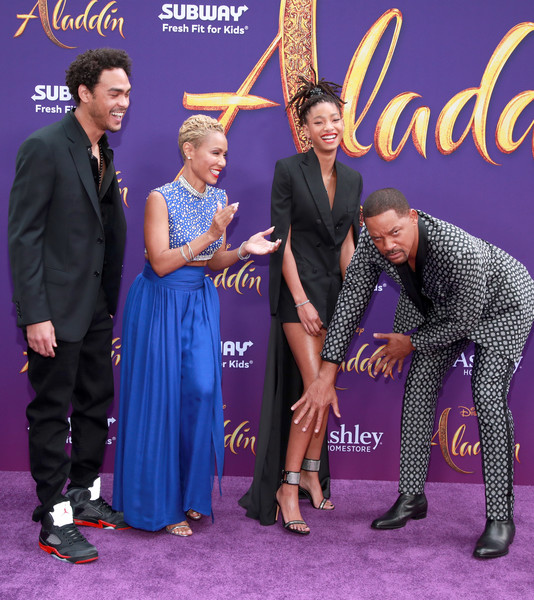 Will Smith won't watch wife Jada's Facebook series