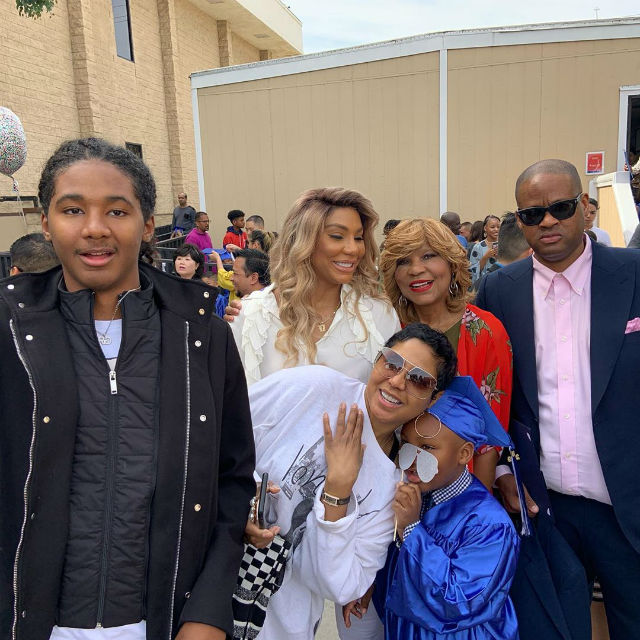 Tamar Braxton And Vincent Herbert S Son Is Off To First Grade