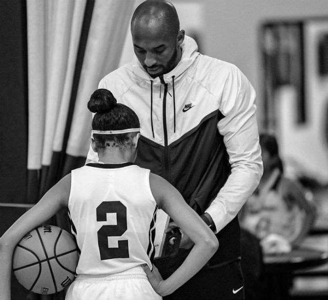 Kobe Bryant S Daughter Gianna Bryant Has Basketball Skills