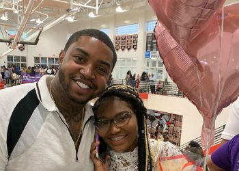 Lil Scrappy and daughter