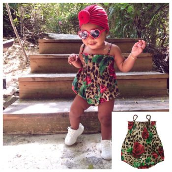 GET THE LOOK: TRUE THOMPSON'S DOLCE&GABBANA ROMPER