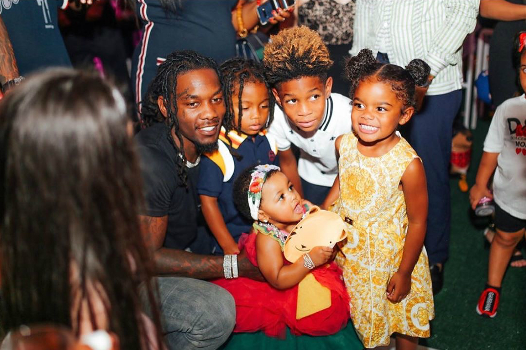 Cardi B And Offset Gave Baby Kulture A Lit Birthday Party In The