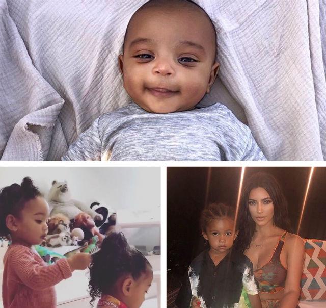 KIM KARDASHIAN HAS BEEN SHARING SWEET PHOTOS AND VIDEOS OF HER KIDS