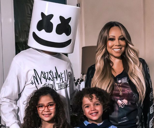 MARIAH CAREY AND KIDS PLAY CHARADES WITH MARSHMELLO