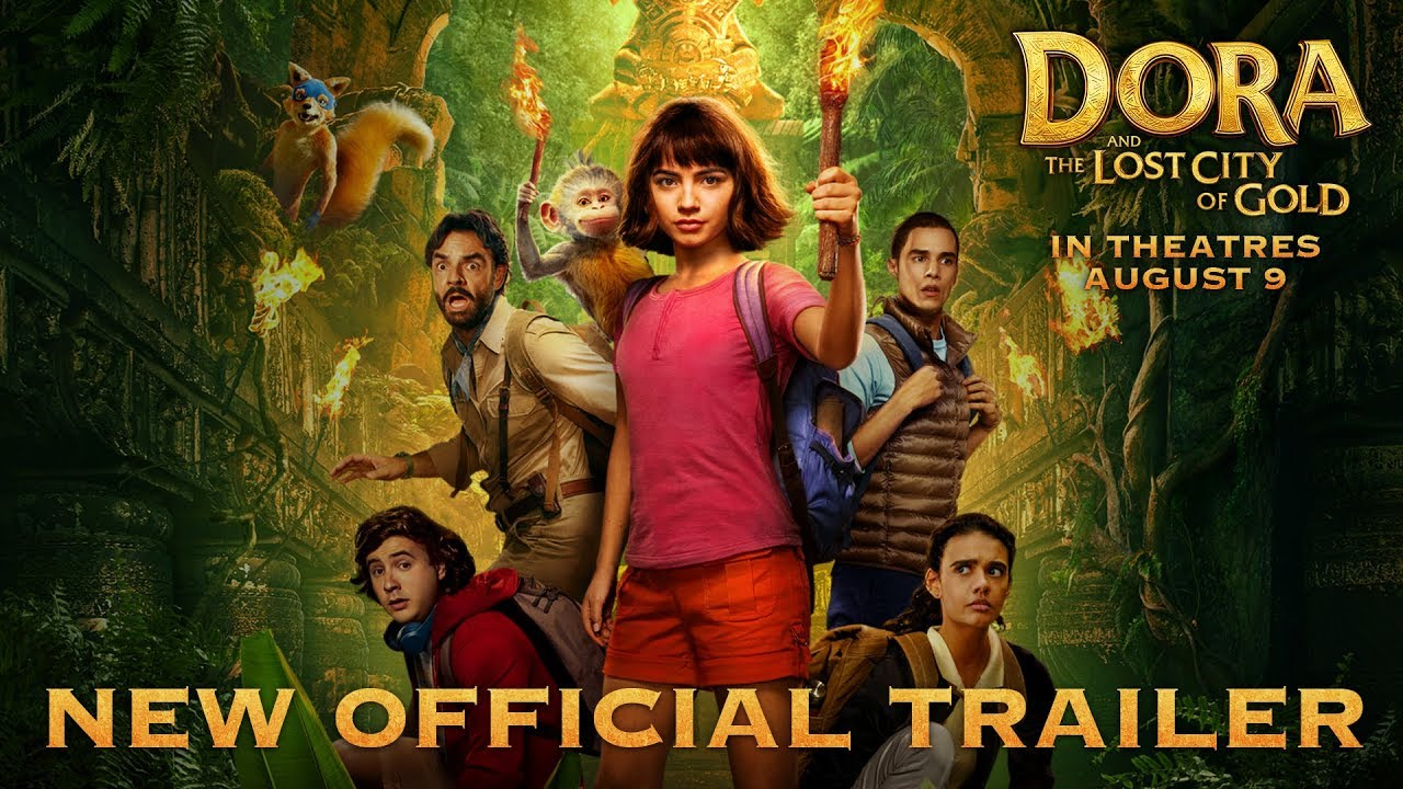 THE NEW TRAILER FOR 'DORA AND THE LOST CITY OF GOLD' WILL