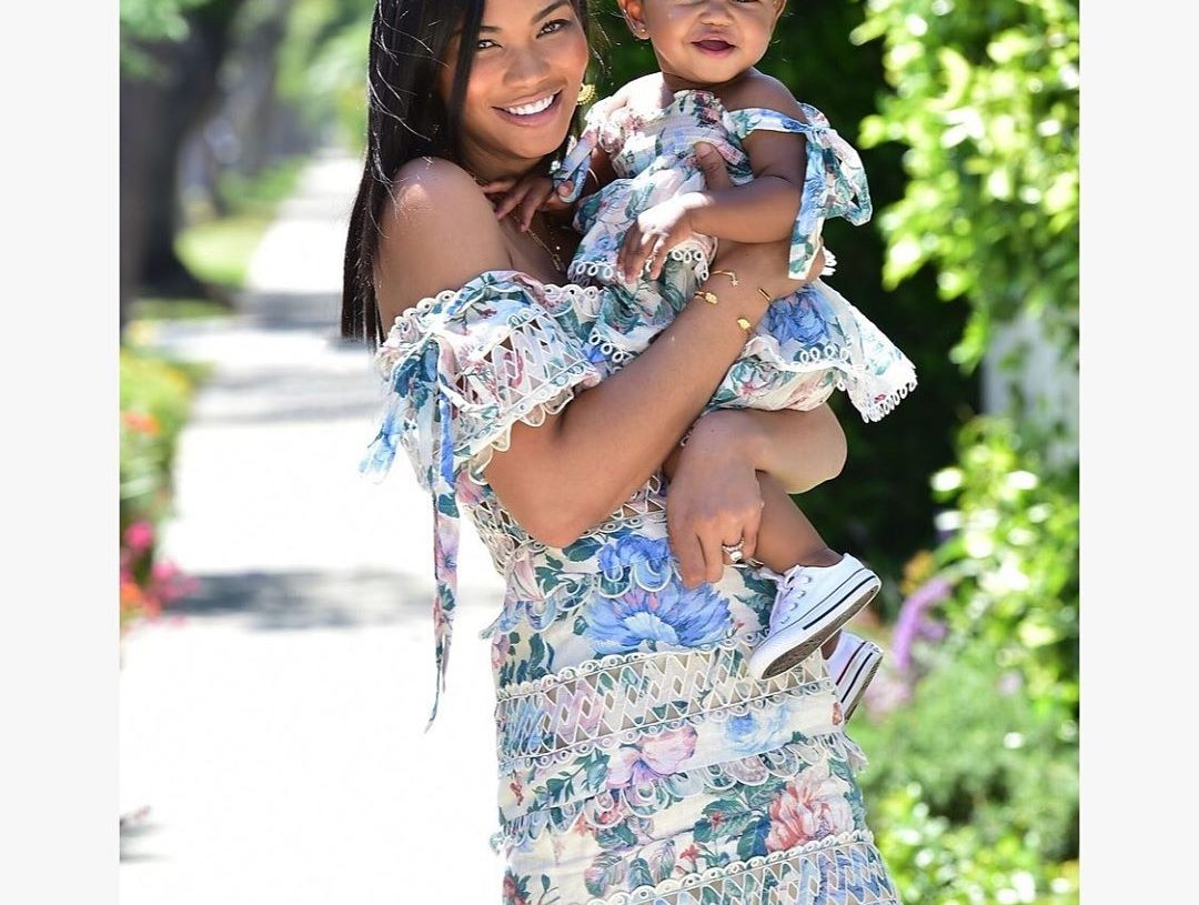 Image result for chanel iman pregnant baby 2