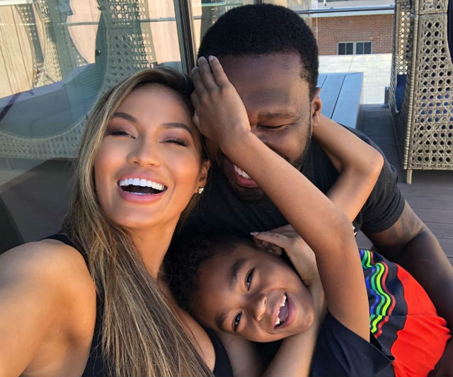 50 CENT, SON, AND EX-GIRLFRIEND DAPHNE JOY POSE IN FAMILY ...