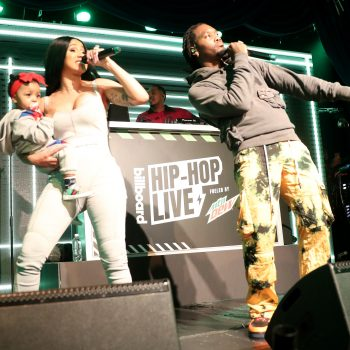 CARDI B AND OFFSET PERFORM WITH BABY KULTURE AT BILLBOARD'S HIP HOP LIVE CONCERT SERIES