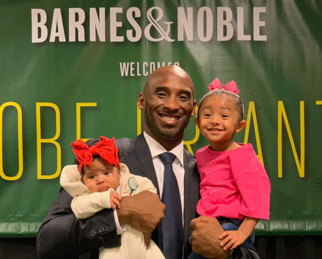 KOBE BRYANT SAYS HIS YOUNGEST KIDS WILL KNOW HIM AS A ...