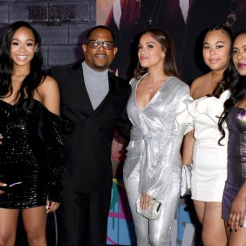 MARTIN LAWRENCE, WILL SMITH BRING THEIR KIDS TO 'BAD BOYS FOR LIFE' PREMIERE IN LOS ANGELES