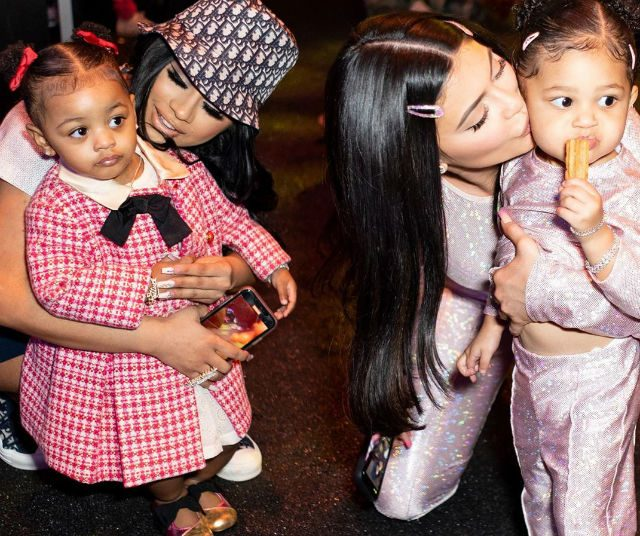 Cardi B And Offset S Baby Girl Made Some Rich Friends At Stormi