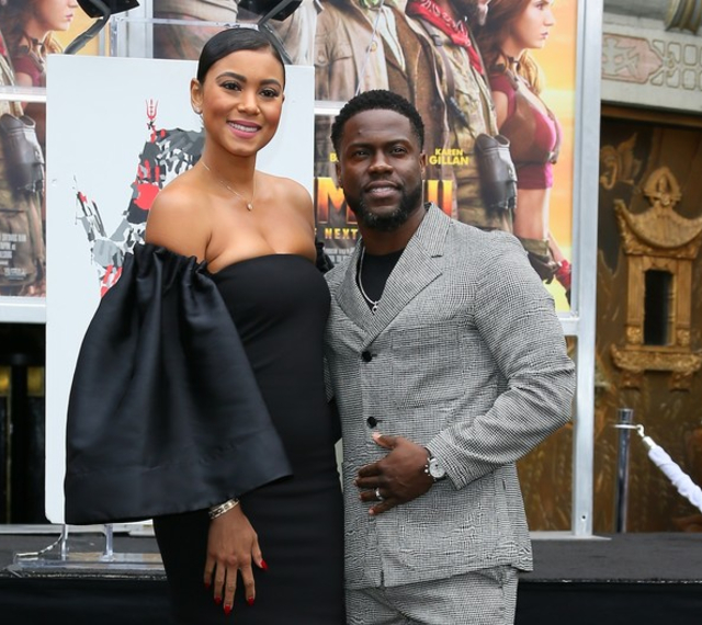 Kevin Hart and wife Eniko are expecting 2nd child together