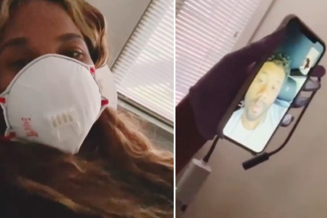 Russell Wilson FaceTimes With Ciara From the Car During Ultrasound