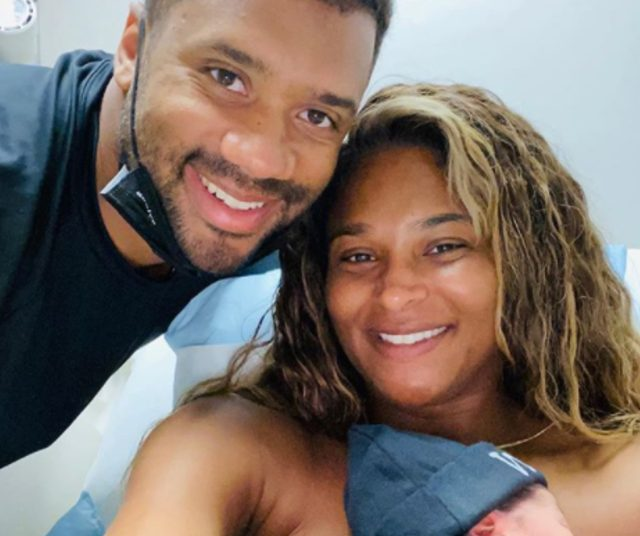 Russell Wilson, Ciara share first pic of son, Win Harrison Wilson