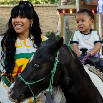 KEYSHIA COLE AND NIKO KHALE CELEBRATE AT SON'S 'TOY STORY' PARTY