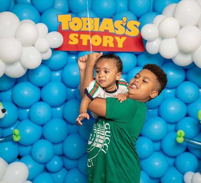 KEYSHIA COLE AND NIKO KHALE CELEBRATE AT SON'S 'TOY STORY ...