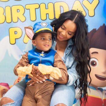 ANGELA SIMMONS CELEBRATES SON'S 4TH BIRTHDAY