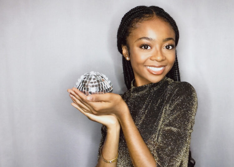 """DANCING WITH THE STARS - ABC's """"Dancing With The Stars"""" stars Skai Jackson. (ABC/Frank Ockenfels)"""