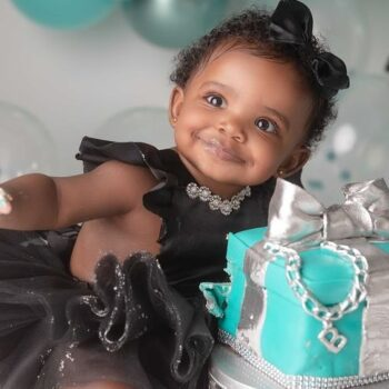 KANDI BURRUSS AND TODD TUCKER CELEBRATE DAUGHTER BLAZE TUCKER'S FIRST BIRTHDAY