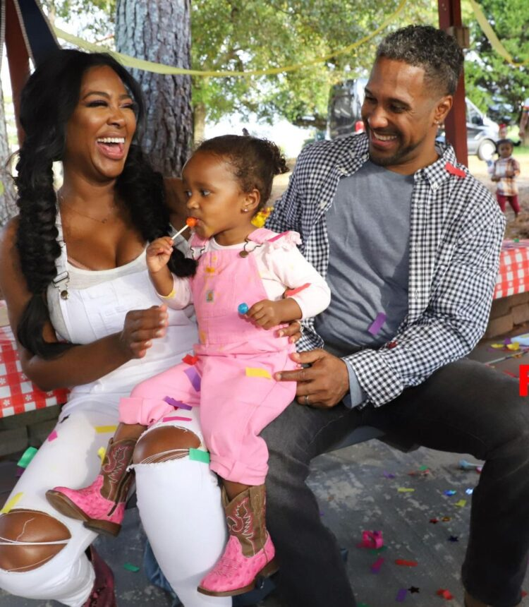 Kenya Moore Opens Up About Husband Marc Daly And Daughter