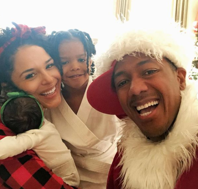 Nick Cannon is a new Christmas dad